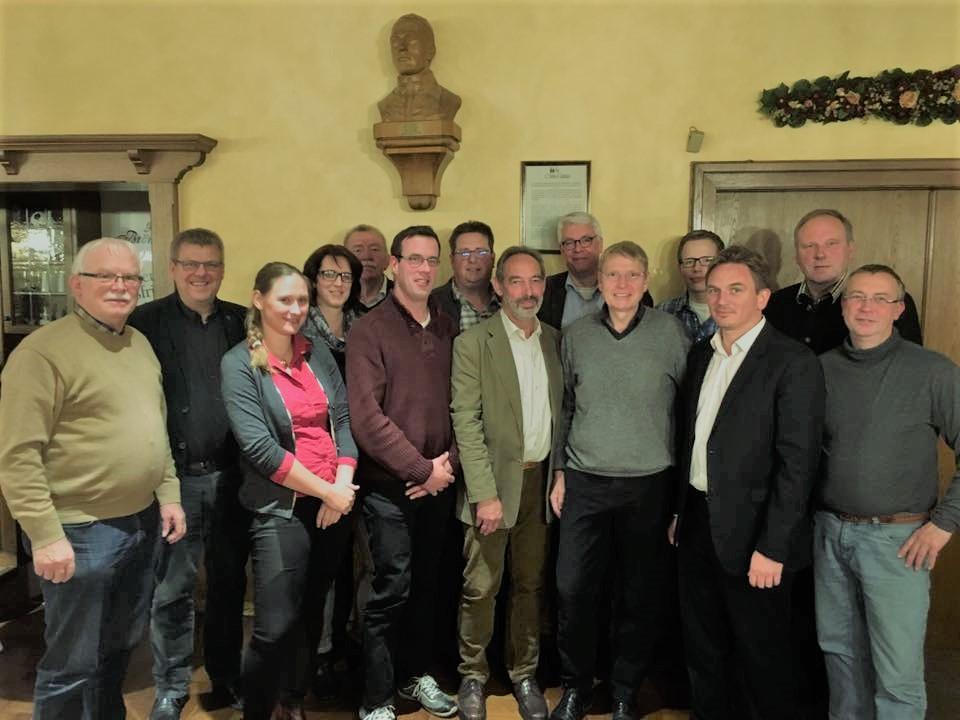 Der neue CDU-Vorstand des Gemeindeverbandes Raesfeld-Erle