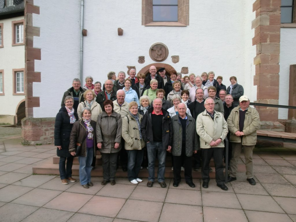 Teilnehemer der Informations- und Besichtigungsfahrt nach Heidelberg